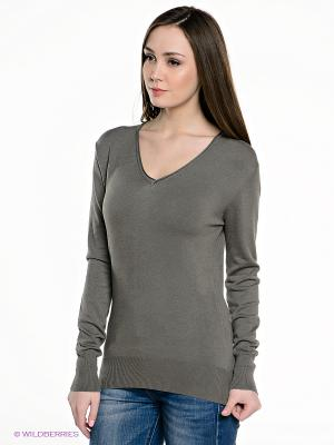 Пуловер E.A.R.C.. Цвет: серо-зеленый