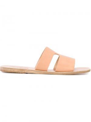 Сандалии Apteros Ancient Greek Sandals. Цвет: телесный