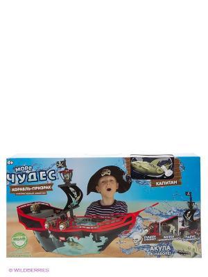 Игровой набор Корабль-призрак Море Чудес. Цвет: голубой