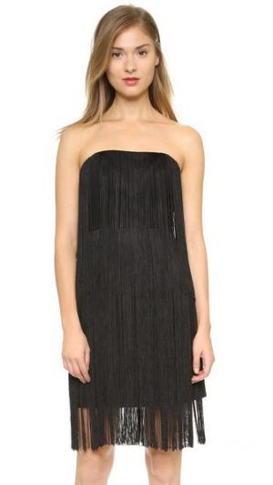 Платье Bethzy Club Monaco. Цвет: сажа