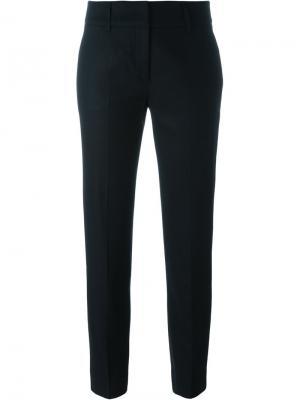 Укороченные строгие брюки Piazza Sempione. Цвет: чёрный