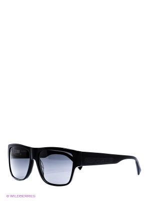 Солнцезащитные очки BLD 1511 102 Baldinini. Цвет: черный, коричневый