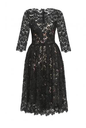 Кружевное платье с сорочкой 147490 Yanina