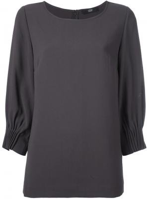 Блузка свободного кроя Steffen Schraut. Цвет: коричневый