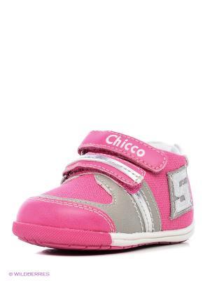Кроссовки CHICCO. Цвет: лиловый, розовый