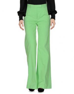 Повседневные брюки BOULE DE NEIGE. Цвет: зеленый