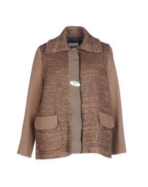 Куртка NIU'. Цвет: голубиный серый