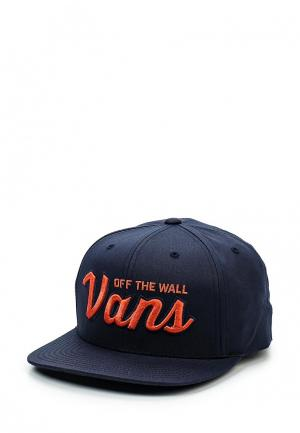 Бейсболка Vans. Цвет: синий