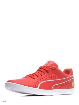 Кроссовки SF Selezione Puma. Цвет: красный