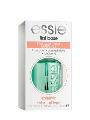 Универсальная основа для ногтей First Base Essie. Цвет: зеленый