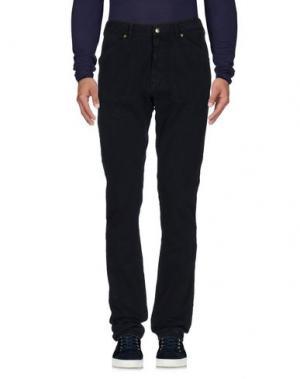 Джинсовые брюки EXTE. Цвет: темно-синий