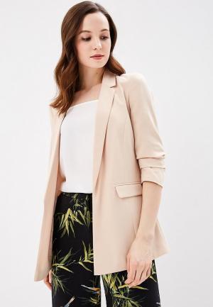 Пиджак Miss Selfridge. Цвет: бежевый