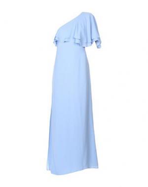 Длинное платье KI6? WHO ARE YOU?. Цвет: сиреневый