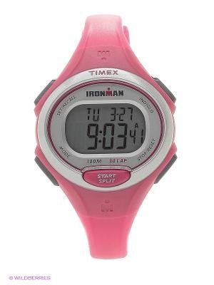 Часы TIMEX. Цвет: розовый
