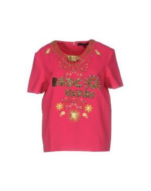 Блузка MANISH ARORA. Цвет: фуксия