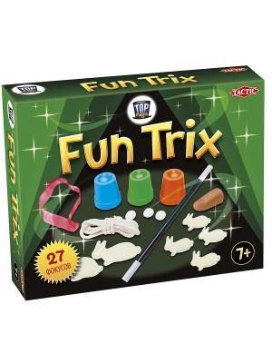 Набор фокусов Fun Trix Tactic Games. Цвет: зеленый