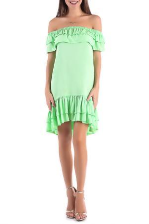 Платье Magnet. Цвет: салатовый