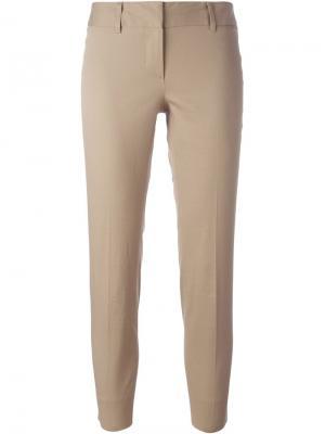 Классические брюки Alberto Biani. Цвет: телесный