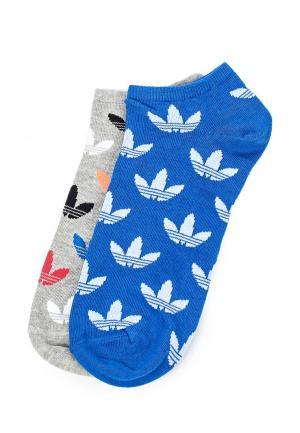 Комплект носков 2 пары adidas Originals. Цвет: разноцветный