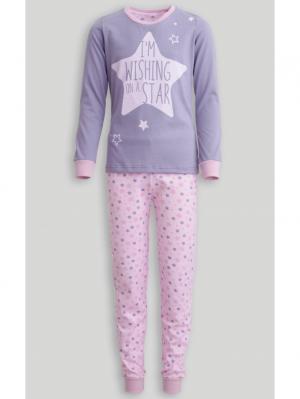 Пижама Jasmil. Цвет: сиреневый, розовый
