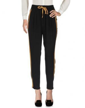 Повседневные брюки SANDAI. Цвет: черный