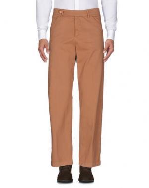 Повседневные брюки HAIKURE. Цвет: верблюжий