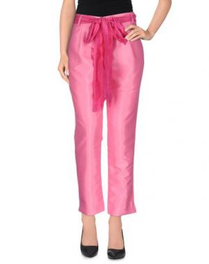 Повседневные брюки LA CAMICIA BIANCA. Цвет: светло-фиолетовый