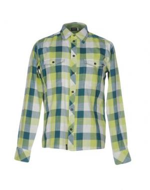 Pубашка ZIMTSTERN. Цвет: зеленый