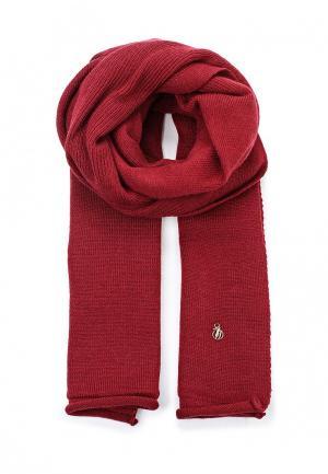 Шарф Trussardi Jeans. Цвет: бордовый