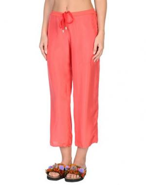 Пляжные брюки и шорты GRAZIA'LLIANI SOON. Цвет: коралловый