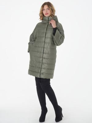Пальто CATTAIL WILLOW. Цвет: оливковый