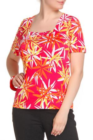 Блуза COUTURE LINE. Цвет: ярко-розовый