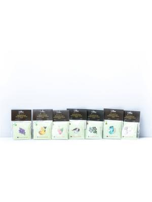 Автомобильный ароматизатор салона (саше), 10 ароматов Индокитай. Цвет: оливковый