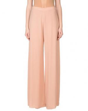 Повседневные брюки GAI MATTIOLO. Цвет: светло-розовый