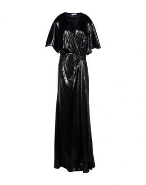 Длинное платье MOSCHINO CHEAP AND CHIC. Цвет: черный