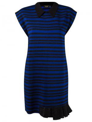 Striped knit dress Gig. Цвет: чёрный