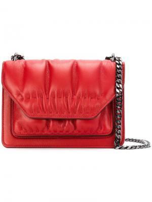 Маленькая сумка Eclipse Glove Elena Ghisellini. Цвет: красный