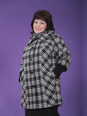 Пальто Марсель VIKO. Цвет: черный