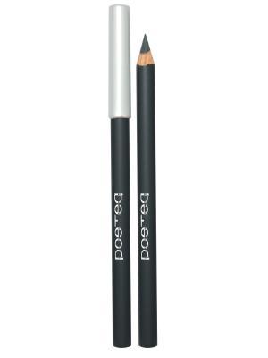 Контурный карандаш для глаз, тон 12 POETEQ. Цвет: серый