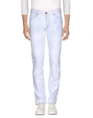 Джинсовые брюки IT'S MET. Цвет: небесно-голубой