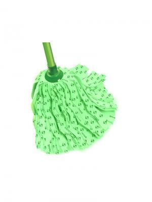 Моп ленточный из вискозы 780216 для мытья полов Banat. Цвет: светло-зеленый