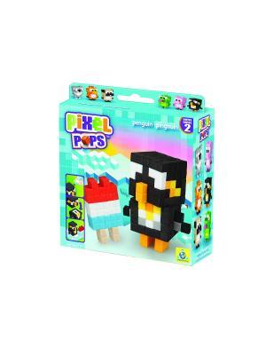 The ORB Factory. Pixel Pops Игрушка Пингвин factory. Цвет: черный, голубой, желтый