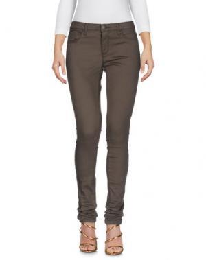 Джинсовые брюки ONLY BLU. Цвет: зеленый-милитари