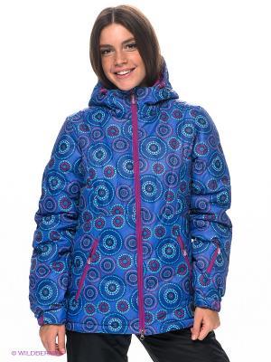 Куртка RED-N-ROCK'S. Цвет: синий, бирюзовый, фуксия