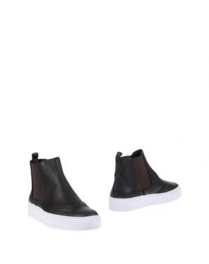 Полусапоги и высокие ботинки JOYKS. Цвет: темно-коричневый
