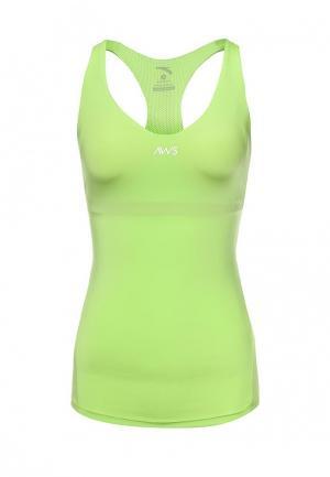 Майка спортивная Anta. Цвет: зеленый