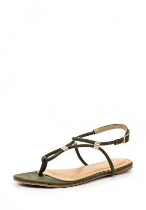 Сандалии Style Shoes. Цвет: зеленый