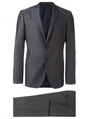 Классический костюм Tonello. Цвет: серый