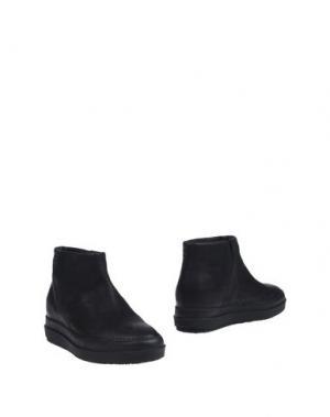 Полусапоги и высокие ботинки RUCO LINE. Цвет: черный