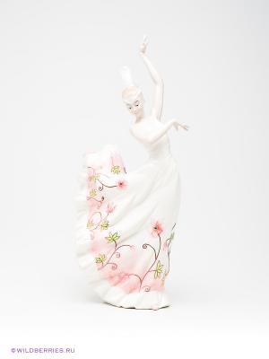 Статуэтка Танцовщица Pavone. Цвет: белый